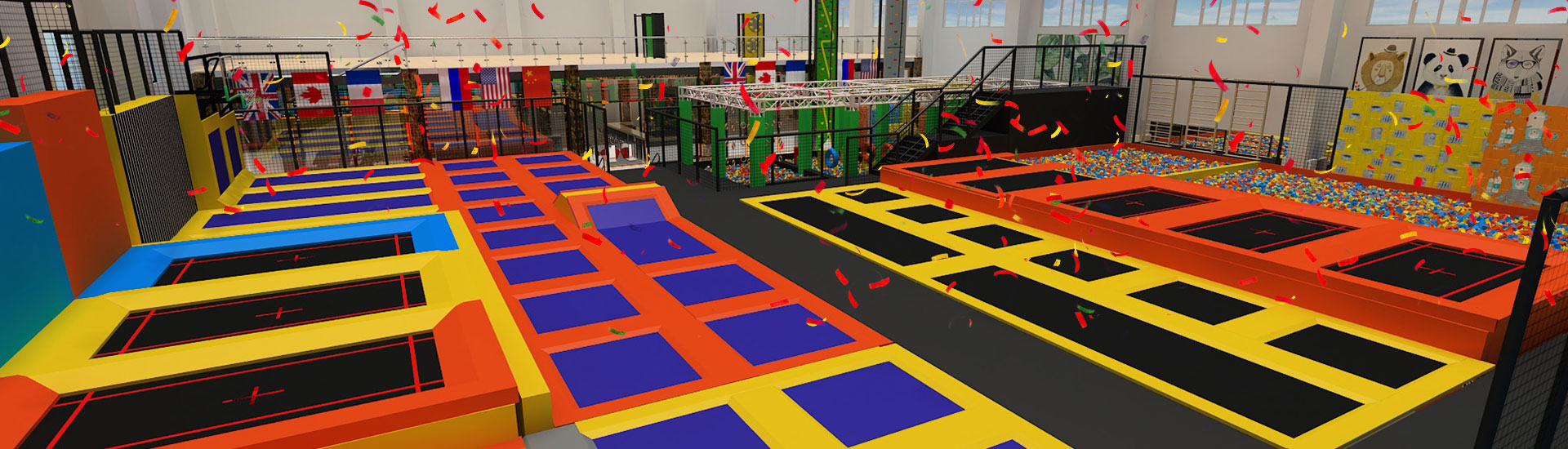China Trampoline Park Manufacturer